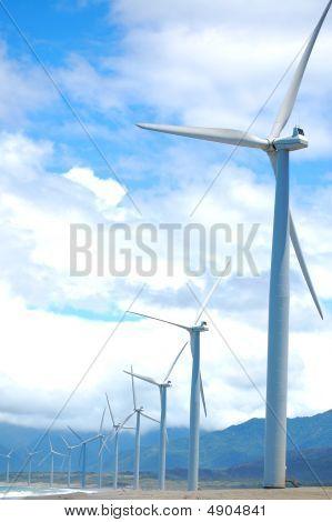 Bangui, molino de viento de Ilocos Norte, Philippines