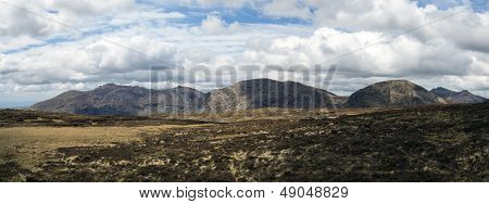 The Mourne Mountains Panorama