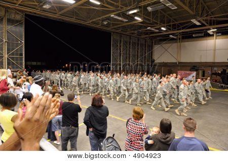 Ejército regreso de despliegue