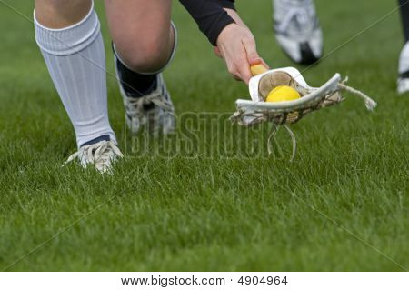 Girls Lacrosse Ground Ball