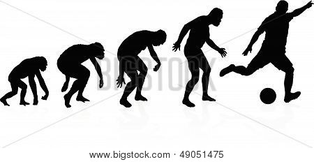 Evolution Of The Soccer Player