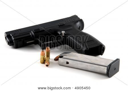 Handgun And Ammo