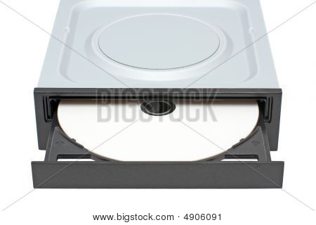 Dvd-rom Drive With Disk