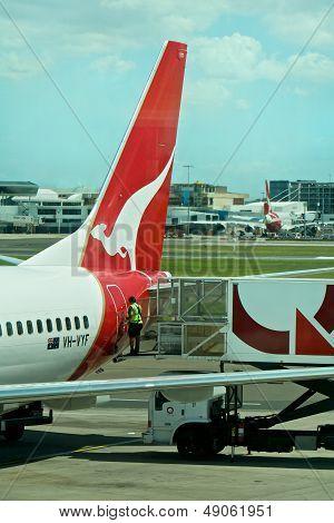 Airport, Qantas