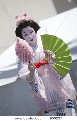 Japanese Dancer