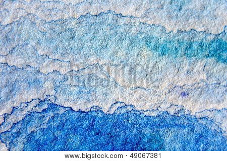 Blue Watercolor Cloud Background 1