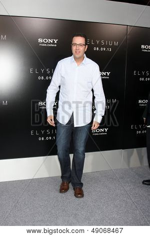 LOS ANGELES - AUG 7:  Jared Fogle arrives at the