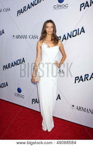 LOS ANGELES - AUG 8:  Angela Sarafyan arrives at the