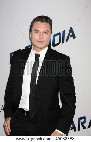 """LOS ANGELES - AUG 8:  Kevin Ryan arrives at the """"Paranoia"""" Los Angeles Premiere at the Directors Guild of America on August 8, 2013 in Los Angeles, CA"""