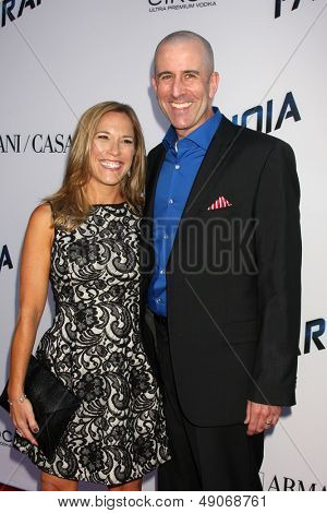 LOS ANGELES - AUG 8:  Stacey Levy, Barry Levy arrives at the