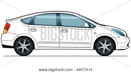 City Car Template
