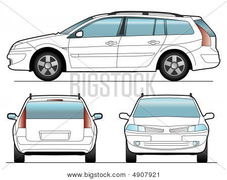 Vector Sw Car