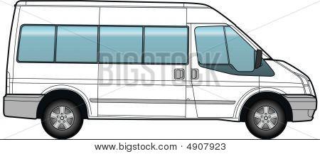 Minibus, Bus Template