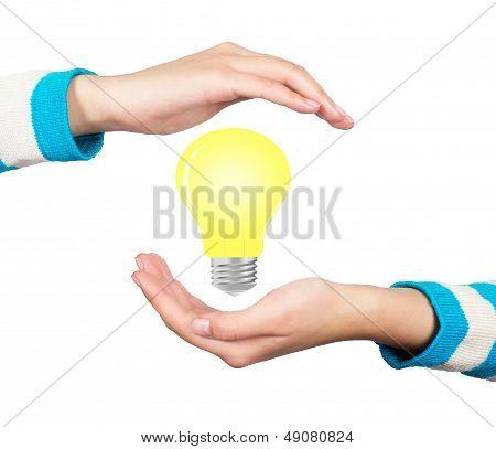 Light Bulb Hand
