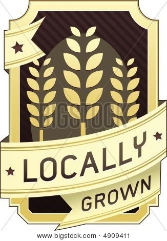 Locally Grown Food Label