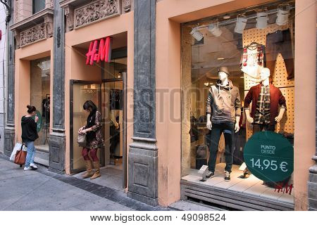 H&m Store Madrid