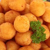 foto of dauphin  - potato ball - JPG