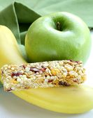 stock photo of roughage  - granola bar - JPG