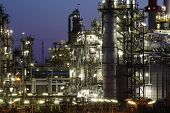 picture of refinery  - Oil and gas industry  - JPG