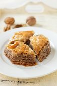 stock photo of baklava  - Baklava - JPG