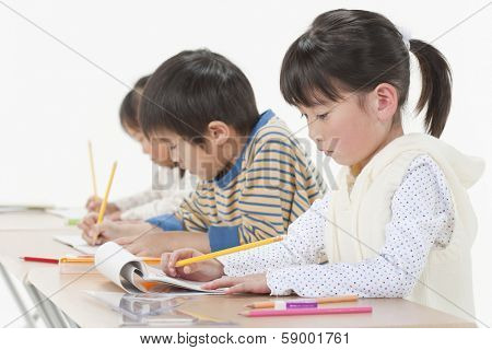 Studying children