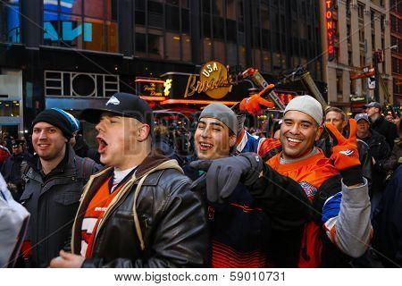 Denver Broncos fans enter the fray