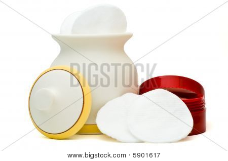 Jar and cream