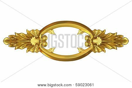 Gold Fretwork