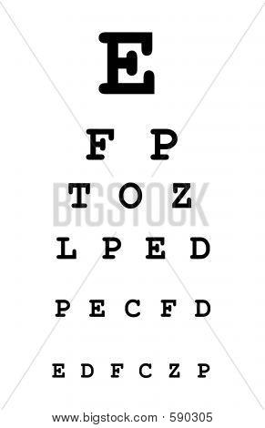 Auge-Testform