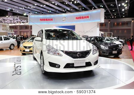 Bangkok - March 26: Nissan Pulsar On Display At The 34Th Bangkok International Motor Show On March 2