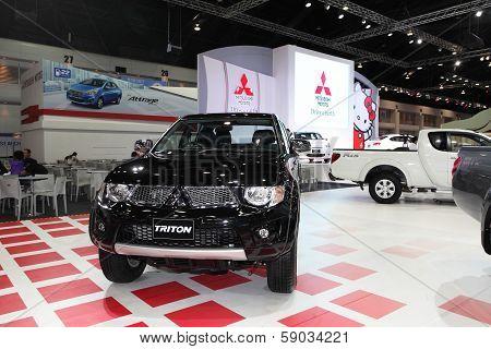 Nonthaburi - November 28: Mitsubishi Triton Car On Display At The 30Th Thailand International Motor
