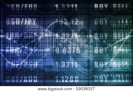 Foreign Exchange Online Buy Sell Screen Art