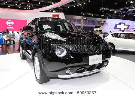 Nonthaburi - November 28: Nissan Juke Car On Display At The 30Th Thailand International Motor Expo O