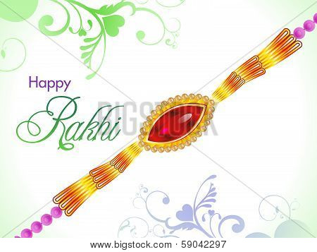 Abstract Raksha Bandhan