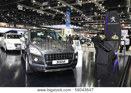 Nonthaburi - November 28: Peugeot 3008 Car On Display At The 30Th Thailand International Motor Expo