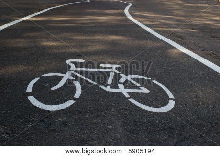 tarmac bicycle path