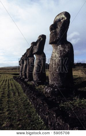 Moai- Easter Island, Chile