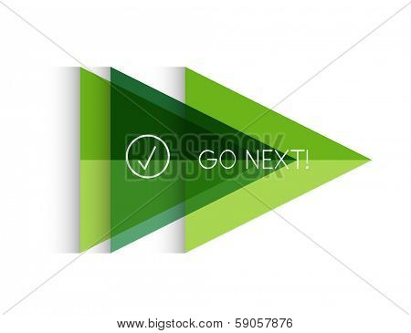 Vector color paper arrow design template for business background   numbered banners   business lines   graphic website layout vector