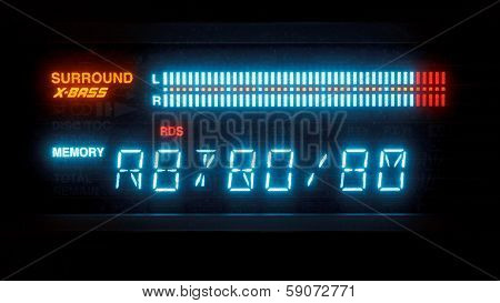 Illuminated Indicator Of Radio Receiver