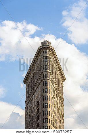 Facade Of The Flatiron Building