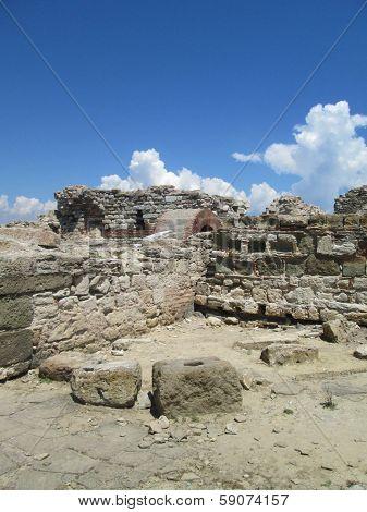 Ruins of Church in Nessebar