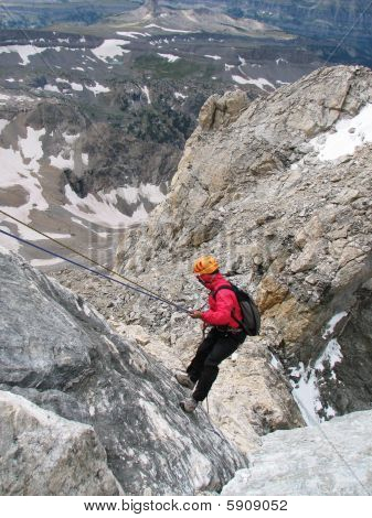 Mountaineer Rappelling
