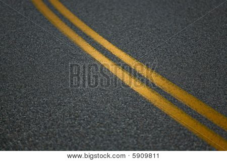 Solid Double Yellow Lines