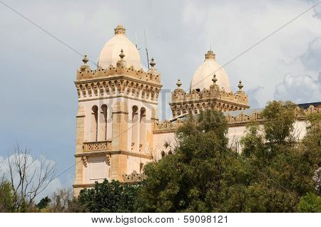 Saint Louis Cathedral In Tunisia