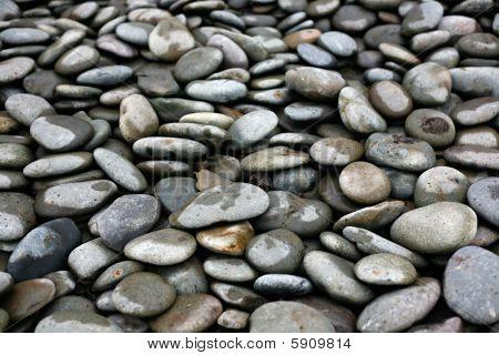 Smooth, Round Ocean Rocks