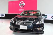 Nonthaburi - November 28: Nissan Teana Car On Display At The 30Th Thailand International Motor Expo