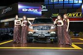 Nonthaburi - November 28: Isuzu Mu-x Car With Unidentified Modes On Display At The 30Th Thailand Int
