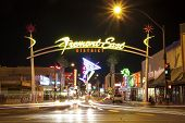 Fremont East District, Las Vegas, Usa
