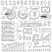stock photo of child development  - Infographic Doodles - JPG