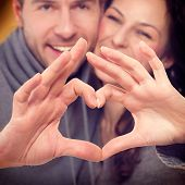 stock photo of love-making  - Valentine Couple - JPG